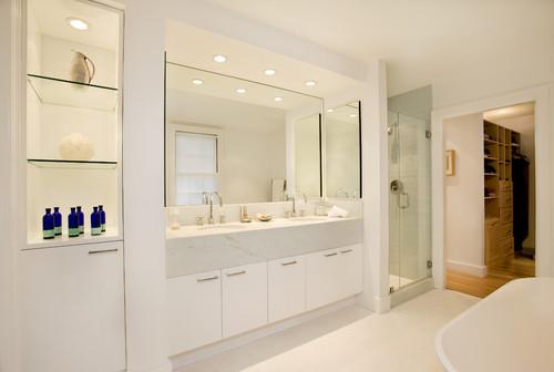 nowoczesne lustro łazienkowe